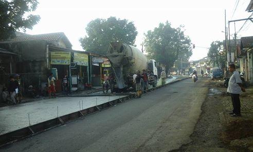Betonisasi Jalan Nusantara, Camat Beji Minta Warga Bersabar