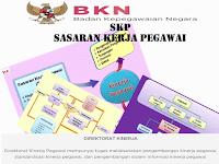 8 Aplikasi SKP Format Excel  lengkap dengan Daftar landasan Peraturan BKN
