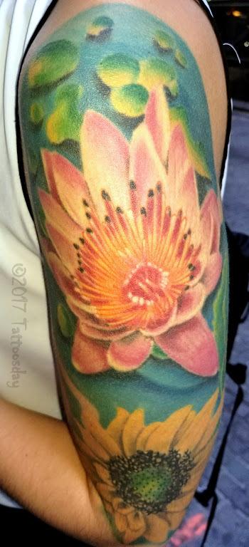Calla's Astonishing Floral Half-Sleeve