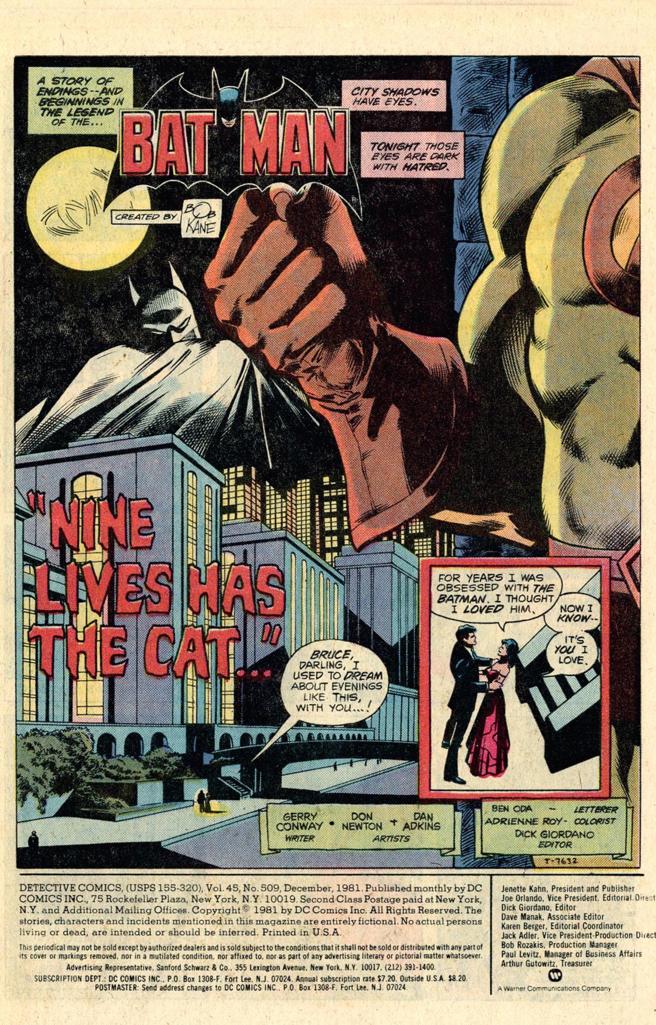 Detective Comics (1937) 509 Page 2