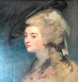 Georgiana, Duchess of Devonshire  in South Sketch Gallery, Chatsworth