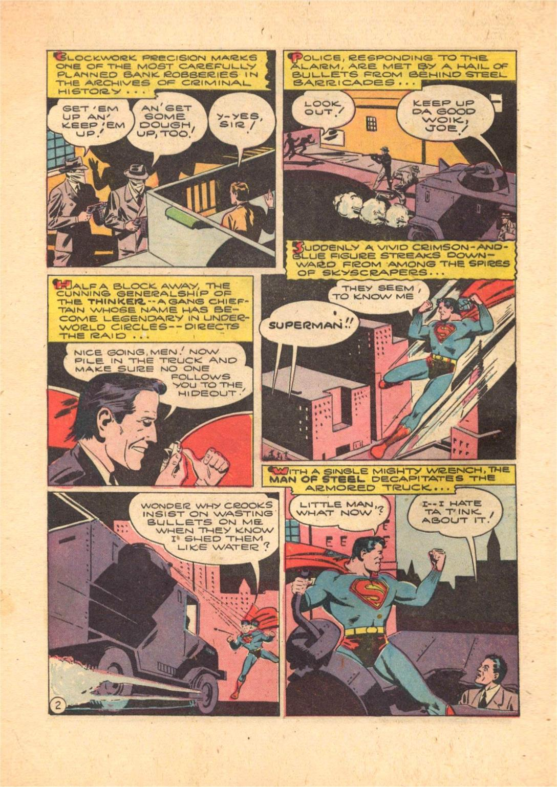 Read online Action Comics (1938) comic -  Issue #70 - 4