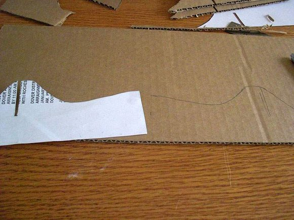 soporte, portátiles, cartón, reciclaje, manualidades, técnicas, plantillas