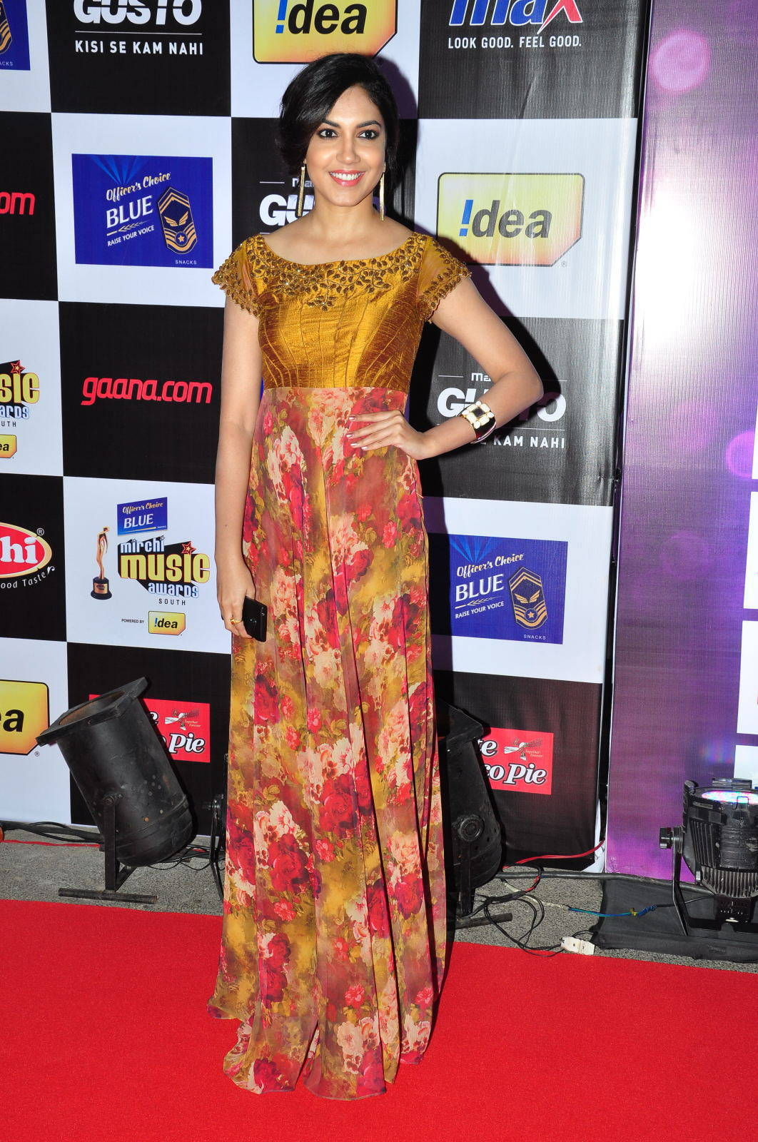 Ritu Varma At Mirchi Music Awards In Yellow Dress