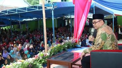 Wakil Bupati Sukabumi H.Adjo Sardjono Hadiri Maulid Nabi Sebagai bukti Besar nya Kecintaan Kepada Nabi Muhamad SAW