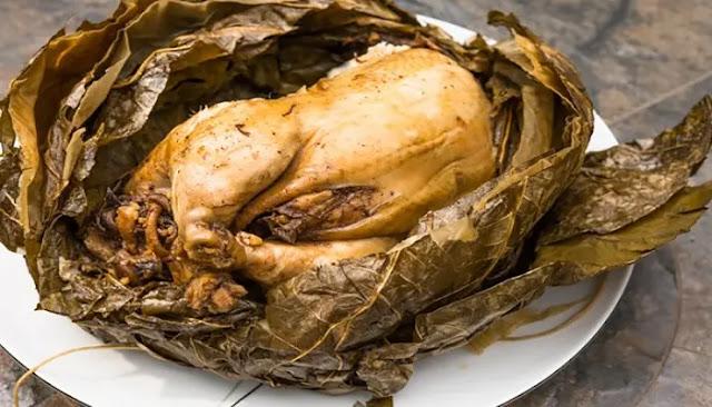Pollo mendigo