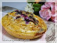 Buns aux myrtilles sans gluten