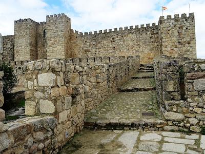 Exterior del Castillo de Trujillo, Cáceres