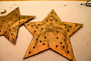 The Fabulous Blog Of Miss Ginger Grant Lighted Star Tree