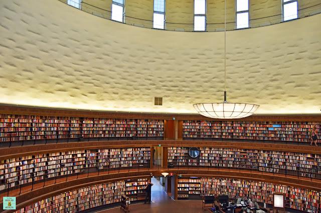 Biblioteca de Estocolmo (Stadsbiblioteket)