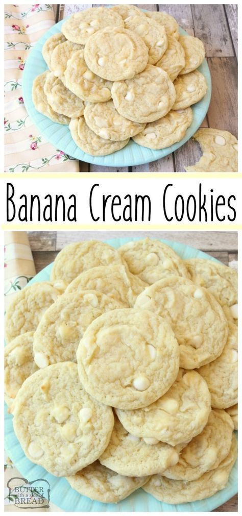 Banana Cream Cookies Recipe