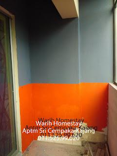 Warih-Homestay-Hampir-Siap-Cat-Balkoni