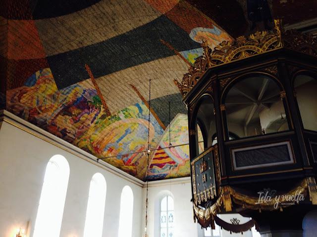 Interior de la Catedral de Oslo