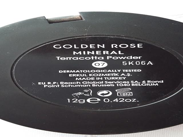 Golden Rose -puder mineralny