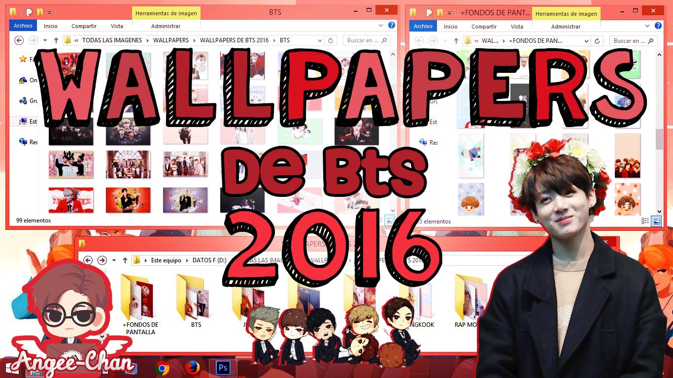 Wallpapers De Kpop Para Compu: Angee-chan: WALLPAPERS DE BTS 2016+FONDOS DE PANTALLA