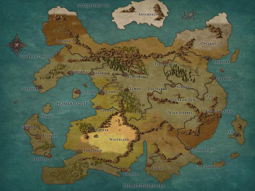 Inkarnate World Map.Fantasy World Map With Inkarnate Basic