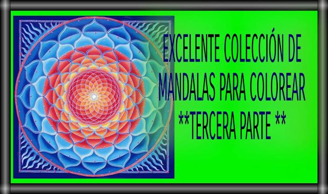 MANDALAS PARA COLOREAR 3