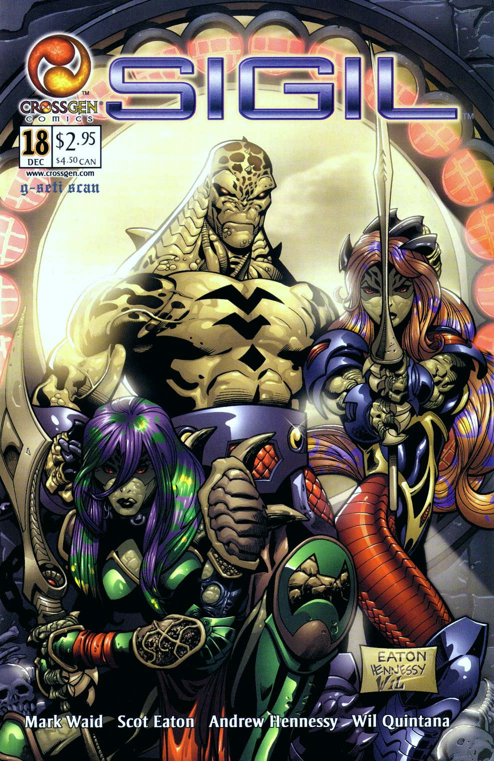 Read online Sigil (2000) comic -  Issue #18 - 1