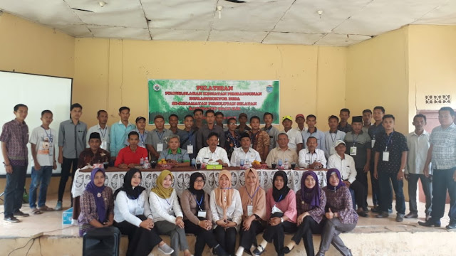 Camat Pemulutan Selatan Buka Pelatihan Pengelolaan Pembangunan Infrastruktur Desa