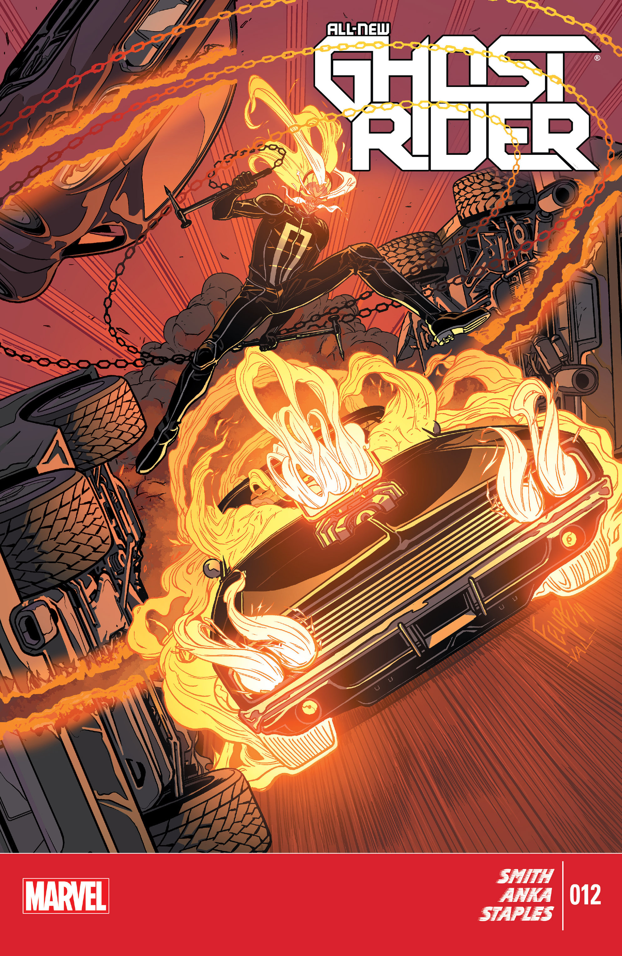 All-New Ghost Rider 12 Page 1