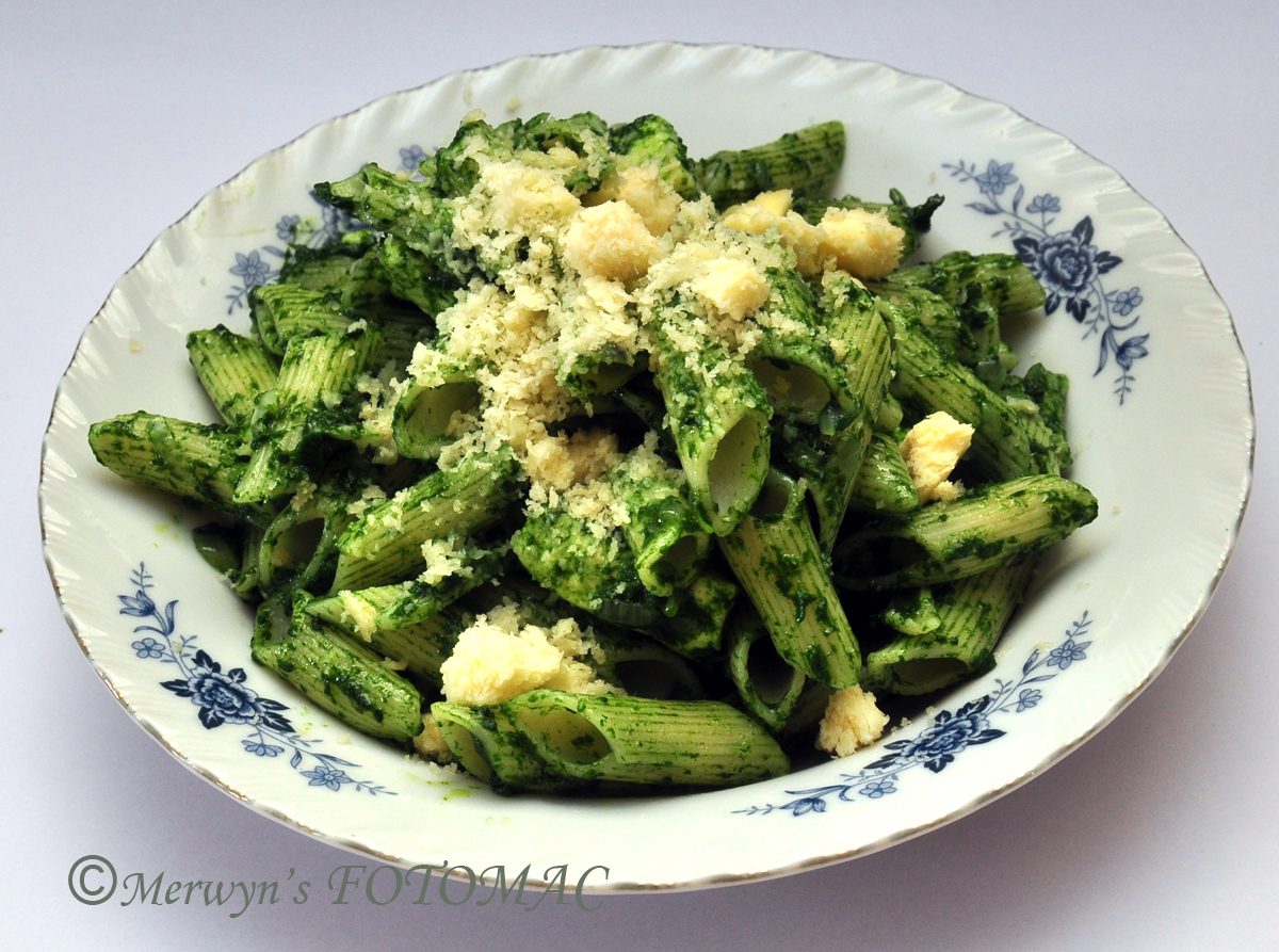 Spinach cottage cheese