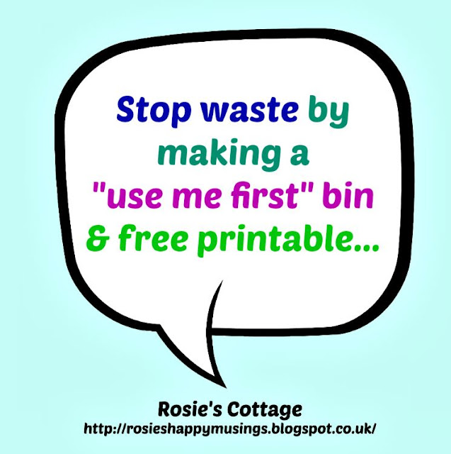 Cut Back On Food Waste By Making A Use Me First Bin For Your Fridge