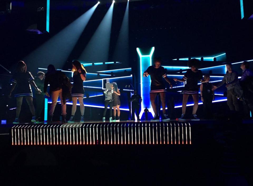 Barei realiza primer ensayo en el escenario de Eurovisión -8