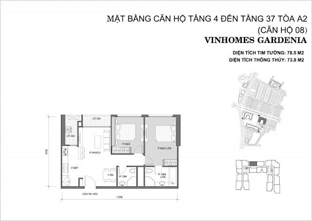 08 - Tòa A2 Vinhomes Gardenia