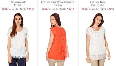 camisetas y tunicas