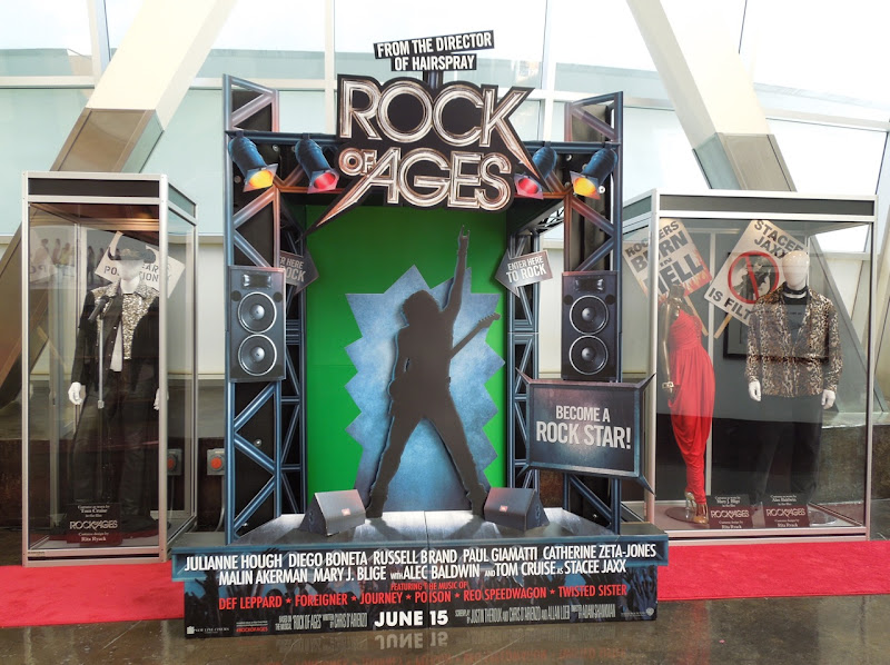 Rock of Ages movie costume exhibit