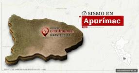 Temblor en Apurímac de 3.4 Grados (Hoy Martes 19 Septiembre 2017) Sismo EPICENTRO Chalhuanca - Aymaraes - Pampamarca - IGP - www.igp.gob.pe
