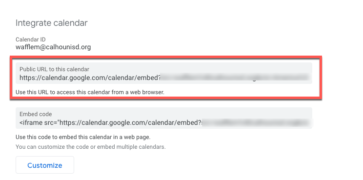 Google Calendar - How to Share Your Calendar Via Link