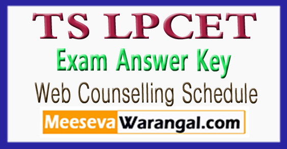 Telangana LPCET Exam Answer Key 2018