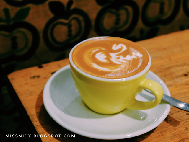 menu makanan dan minuman di saudagar kopi