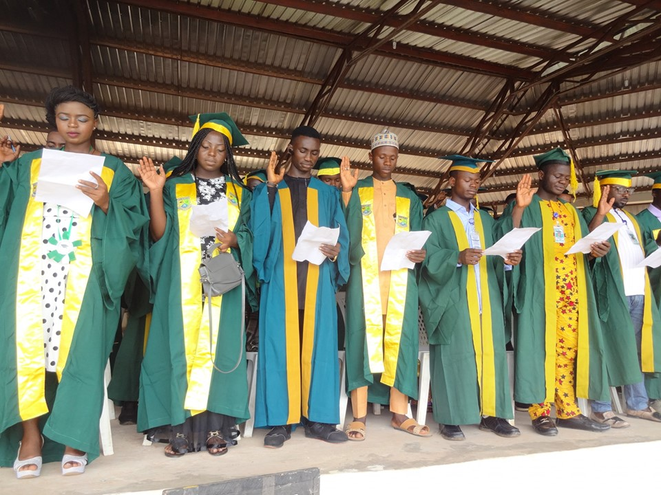 NSUK Matriculates 6, 210 Students for 2019/2020 Session