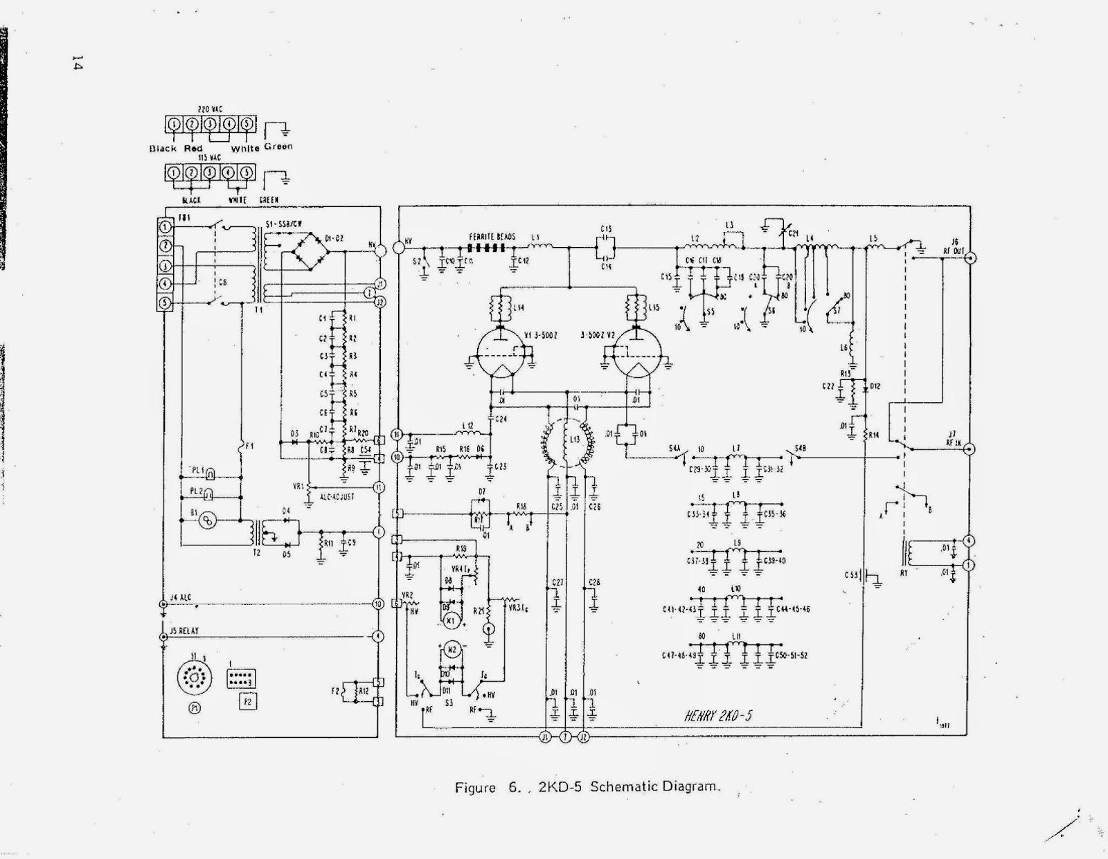 91nr712 Henry 2kd5 Hf Linear Amplifier