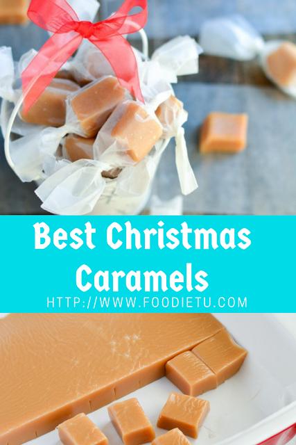 Best Christmas Caramels