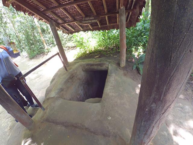 Pintu Masuk Terowongan - Chu Chi Tunnels