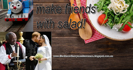 You Don't Make Friends With Salad...