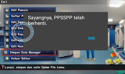 Cara Setting Game PES Jogress Supaya Tidak Force Close di Emulator PPSSPP