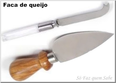 Foto de Faca para queijo que em inglês é chamada de Cheese Knife