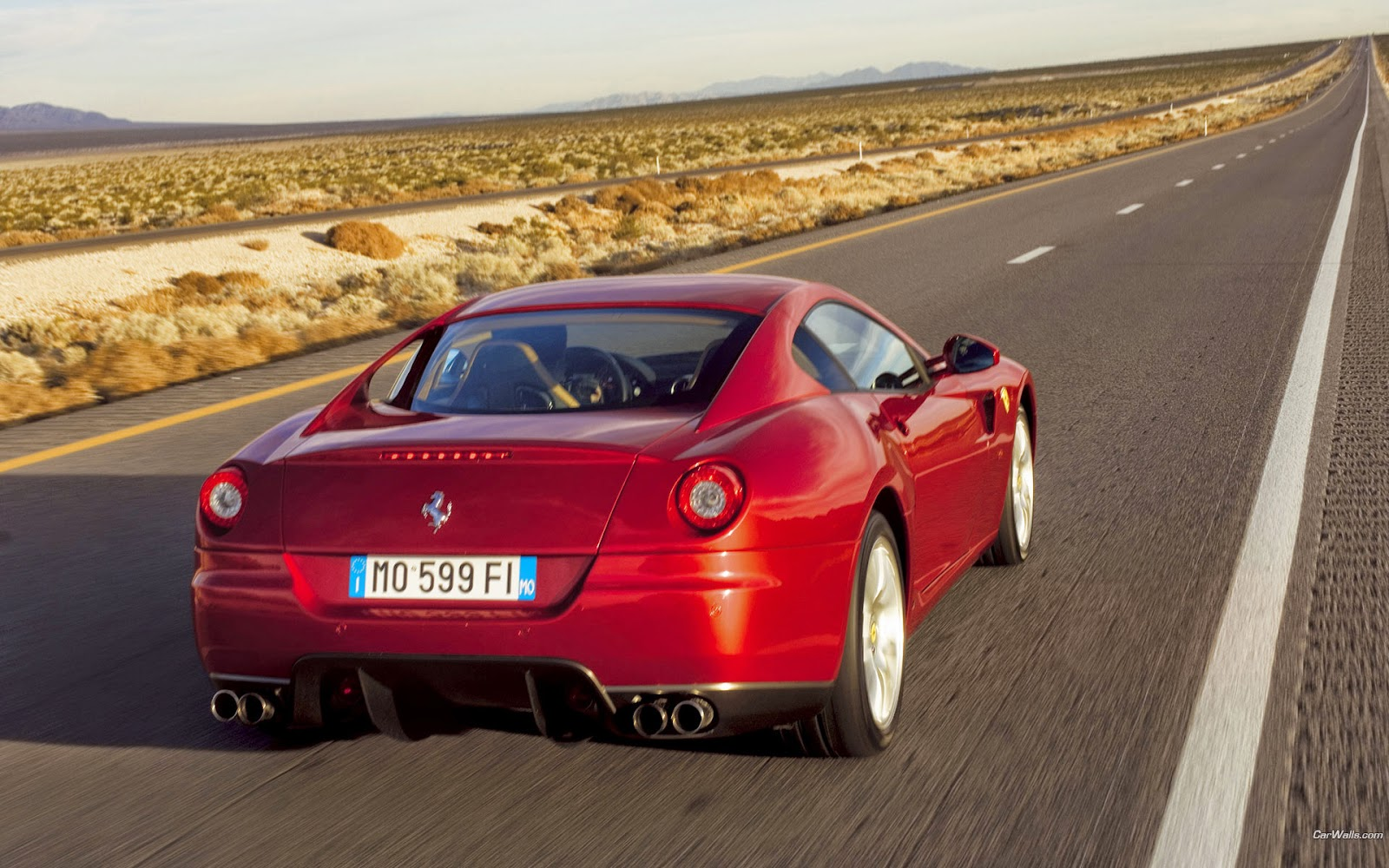 Red Hot Ferrari Wallpapers Photo