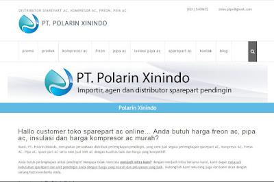 Polarin Xinindo : Distributor Sparepart AC