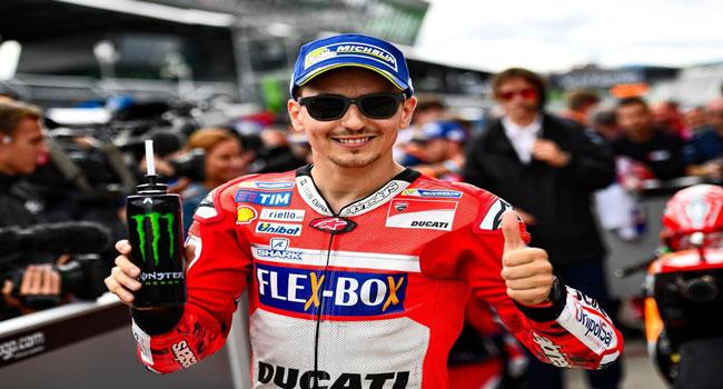 """Rebut Posisi Start Ke-3, Jorge Lorenzo: """"Fairing Ducati Banyak Membantu Saya Disini"""""""