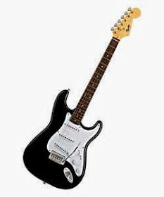 Guitarra electrica fende squier