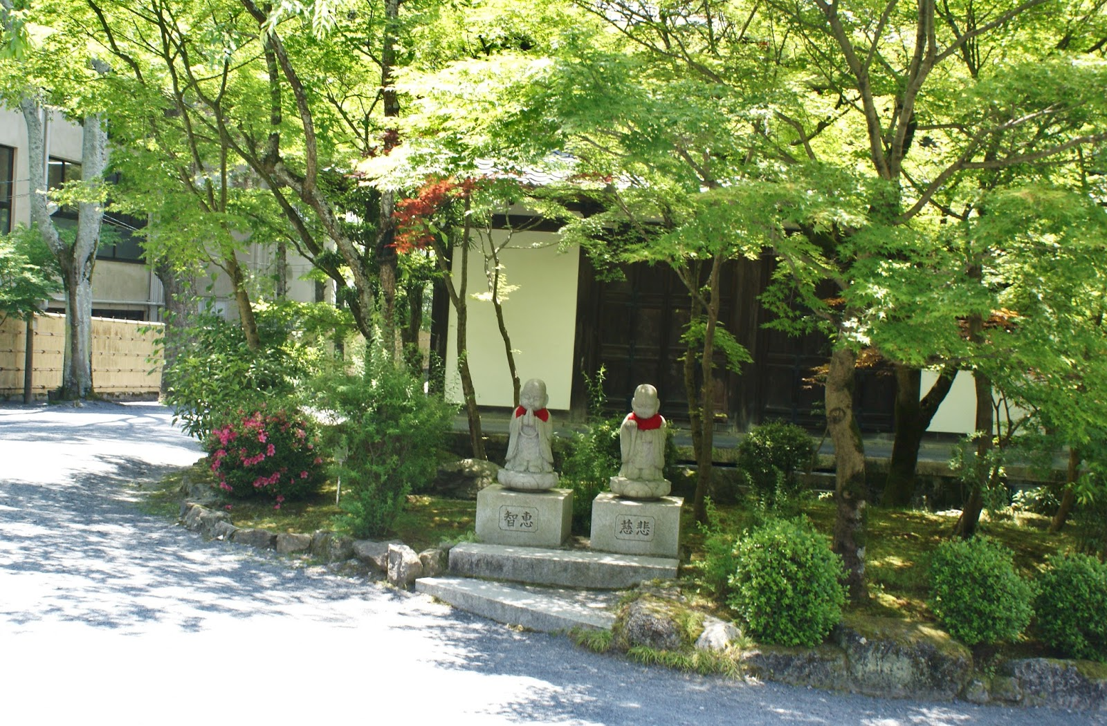 jizo eikan do zenrin-ji buddhist temple garden kyoto japan