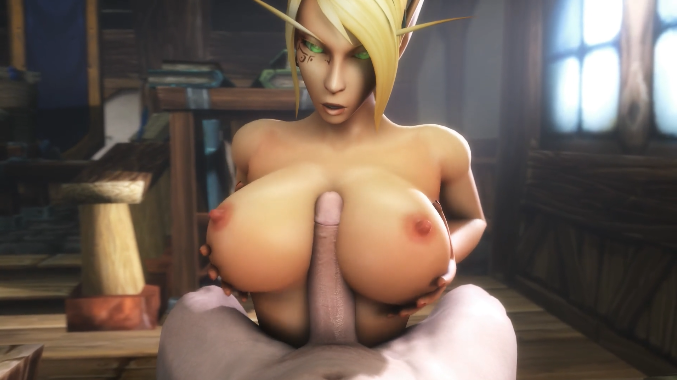 Blood Elf titjob NoName55 | Warcraft
