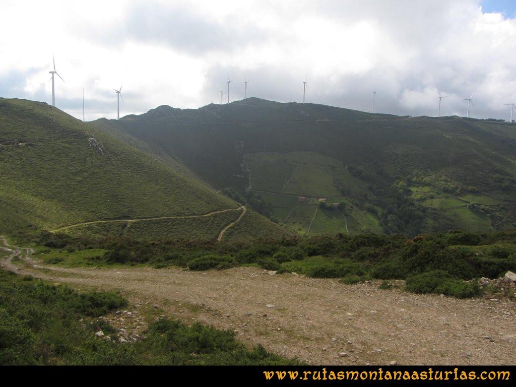 Ruta Llan de Cubel y Cueto: Bajando a Llendepín