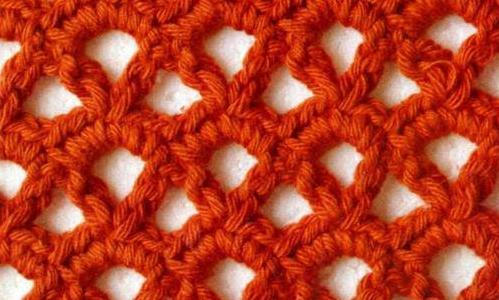 Patrón #1814: Punto Calado a Crochet
