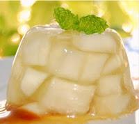como preparar gelatina de melon